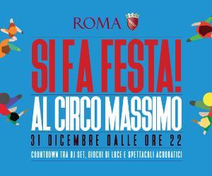 Capodanno: 31 dicembre: si fa festa al Circo Massimo