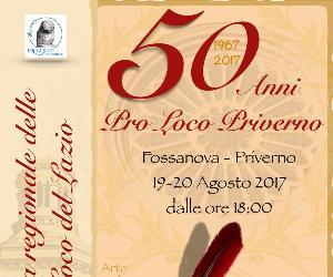Sagre e degustazioni: 50 anni Pro Loco Priverno e VII festa regionale delle Pro Loco del Lazio