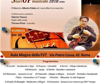 Concerti: Start Up Musicale 2018