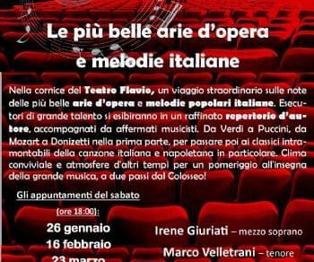 Concerti - I Pomeriggi d'Opera