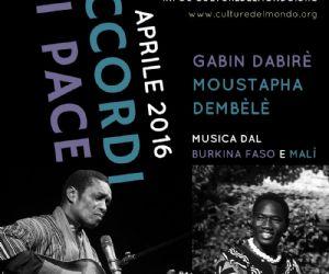Concerti: Gabin Dabirè e Moustapha Dembèlè in Concerto