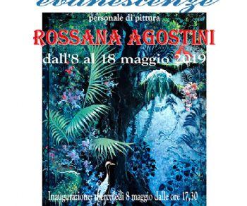 Le trasparenze di smalto su plexiglas di Rossana Agostini