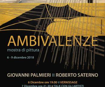 Mostra di Giovanni Palmieri e Roberto Saterno