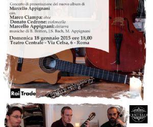 Concerto di presentazione del nuovo album di Marcello Appignani