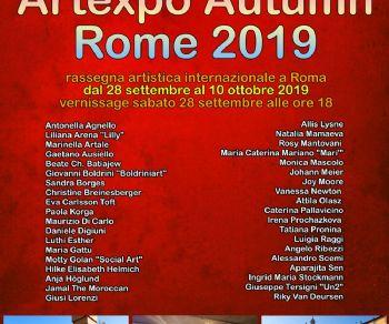 Gallerie - Artexpo Autumn Rome 2019