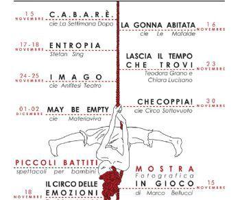Rassegne: BATTITI rassegna internazionale di circo – teatro