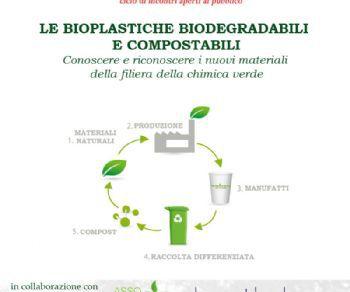 Le bioplastiche biodegradabili e compostabili. Conoscere e riconoscere i nuovi materiali della filiera della chimica verde