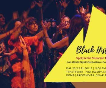 Concerti - Black History al Teatro Trastevere