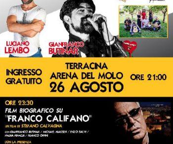 Spettacoli - Grande serata al Terracina Summer Festival