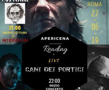 Spettacoli - Artaud dal manicomio letto da Capovilla + concerto Cani dei Portici