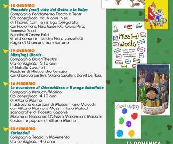 Bambini - Teatro Bimbi CCP Junior - Stagione 2020