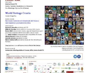 V edizione, World Heritage Croatia