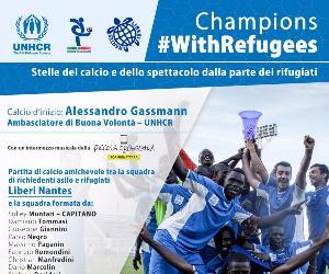 Attività - Champions #withrefugees
