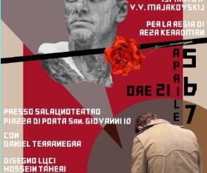 Un monologo ispirato a V.V. Majakovskij