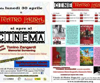 Spettacoli - Il Teatro L'Aura diventa Cine-Teatro da lunedì 30 aprile