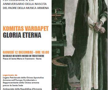 Concerti - Concerto del Coro dei Diaconi della Sede Madre di Santa Etchmiadzin