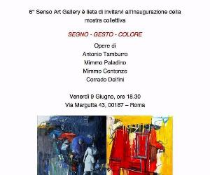 Gallerie - Segno - Gesto - Colore