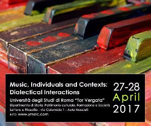 Concerti - Prima Conferenza Internazionale dei Giovani Musicologi ed Etnomusicologi
