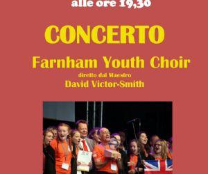 "Concerti: Concerto del ""Farnham Youth Choir"" (UK)"