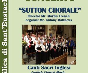 Il coro costituito nel 2009 e diretto da Martin French