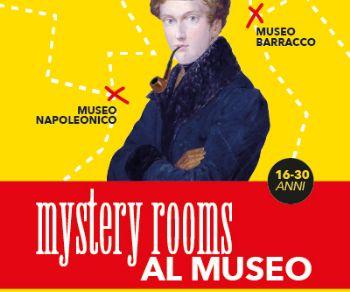 Locandina: Al via Mystery Rooms nei Musei in Comune