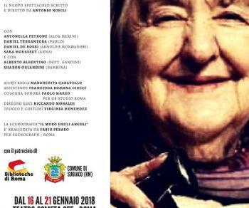 Il nuovo emozionante spettacolo scritto e diretto da Antonio Nobili dedicato alla poetessa italiana Alda Merini