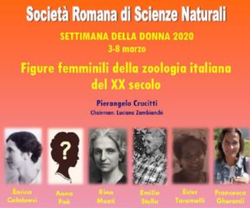 Altri eventi - Le figure femminili della zoologia italiana del XX secolo