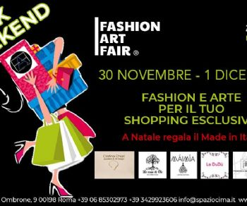 Fiere - BLACK WEEKEND 30 novembre - 1 dicembre