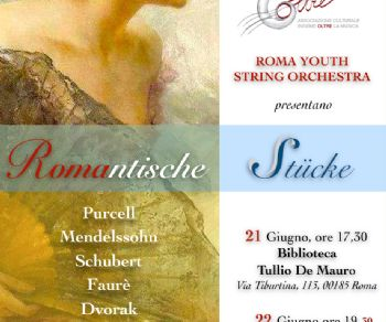 Concerti - Roma Youth String Orchestra in concerto
