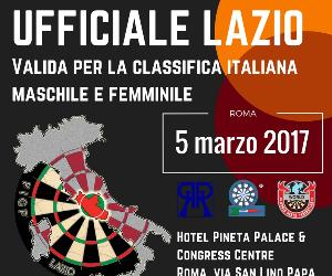 Attività - 10^ gara ufficiale Lazio Federazione italiana gioco freccette