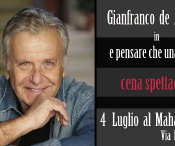 Locali - Il tour di Gianfranco de Angelis e la sua band