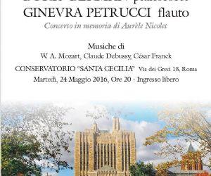 Un concerto dedicato alla memoria di Aurèle Nicolet