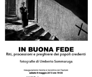 Inaugurazione mostra fotografica di Umberto Sommaruga