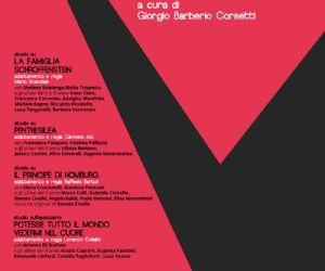 4 studi su Kleist a cura degli allievi dell'Accademia Nazionale D'Arte Drammatica Silvio D'Amico coordinati da Giorgio Barberio Corsetti