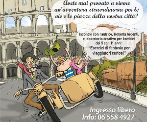 Bambini e famiglie: Michelino per Roma a bordo della fantasia