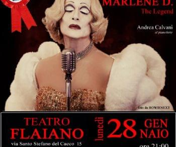 Locandina: MARLENE D. The Legend