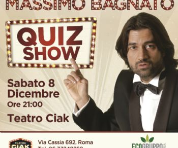 Uno spettacolo di e con Massimo Bagnato