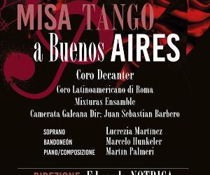 Concerti: La Misa Tango arriva a Frascati