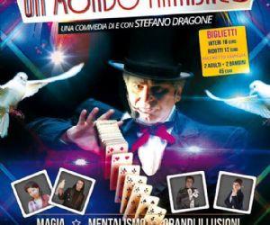 Uno spettacolo di Stefano Dragone, famoso attore, presentatore, poeta ed intrattenitore romano
