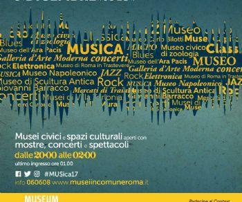 Musei aperti fino alle due di notte con mostre, concerti e spettacoli con ingresso a 1 euro