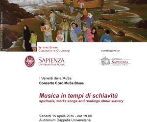 Concerti: Musica in tempi di schiavitù