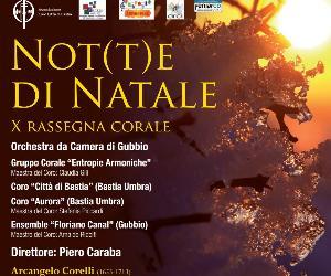 Concerti: Not(t)e di Natale. X Rassegna corale