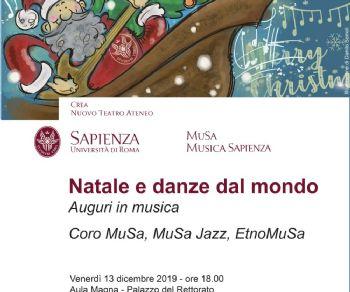 Concerti - Concerto di Natale alla Sapienza
