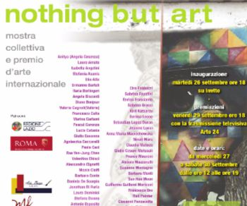 Mostre: Nothing but Art