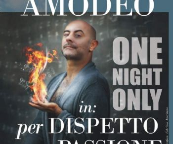 'One Night Only' di Giovanni Amodeo