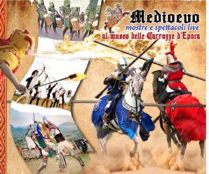 Spettacoli: Medioevo al museo delle Carrozze d'Epoca