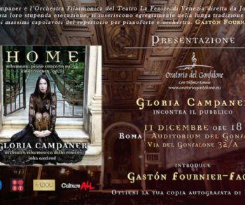 Concerti - Gloria Campaner in concerto
