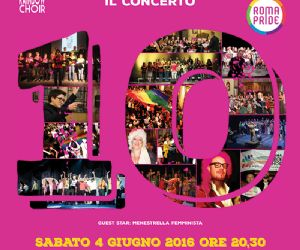 Concerto in occasione del Roma Pride 2016