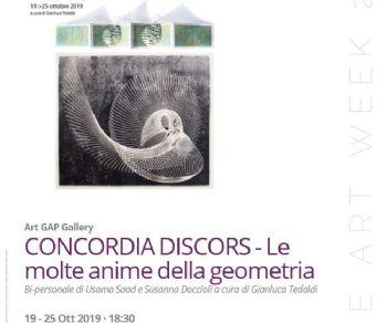 Gallerie - Concordia Discors – Le molte anime della geometria