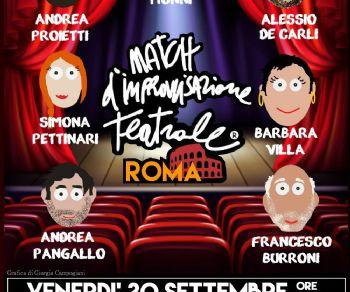 Spettacoli - Match d´Improvvisazione Teatrale®